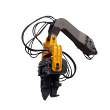 High quality vibratory pile driver machine attachment for excavators