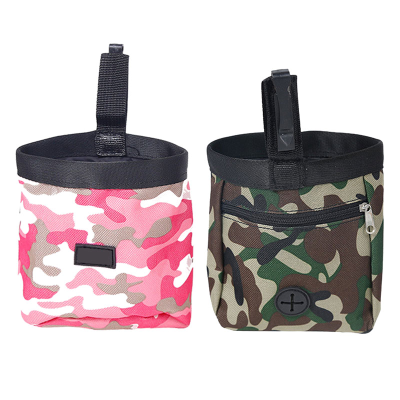 Portable Detachable Dog Training Treat Bags Doggie Pet Feed Pocket Pouch Puppy Snack Reward Waist Bag 1