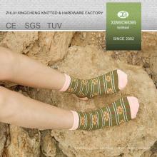 Estilo nacional colorido mujer calcetines ciclismo calcetines calcetín máquina de coser chica japón