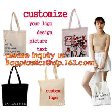 Foldable Shopping Cotton handle bag, cotton handles carry tote bag, cotton carrier, carrier shopping bags, cotton grocery bags