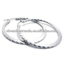 new desig antiallergic stainless steel big hoop earrings
