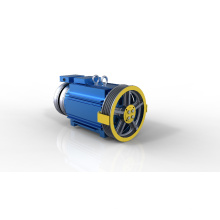 ISO9001 GSS-SM1 320kg 1.0m/s PM Elevator Gearless Motor