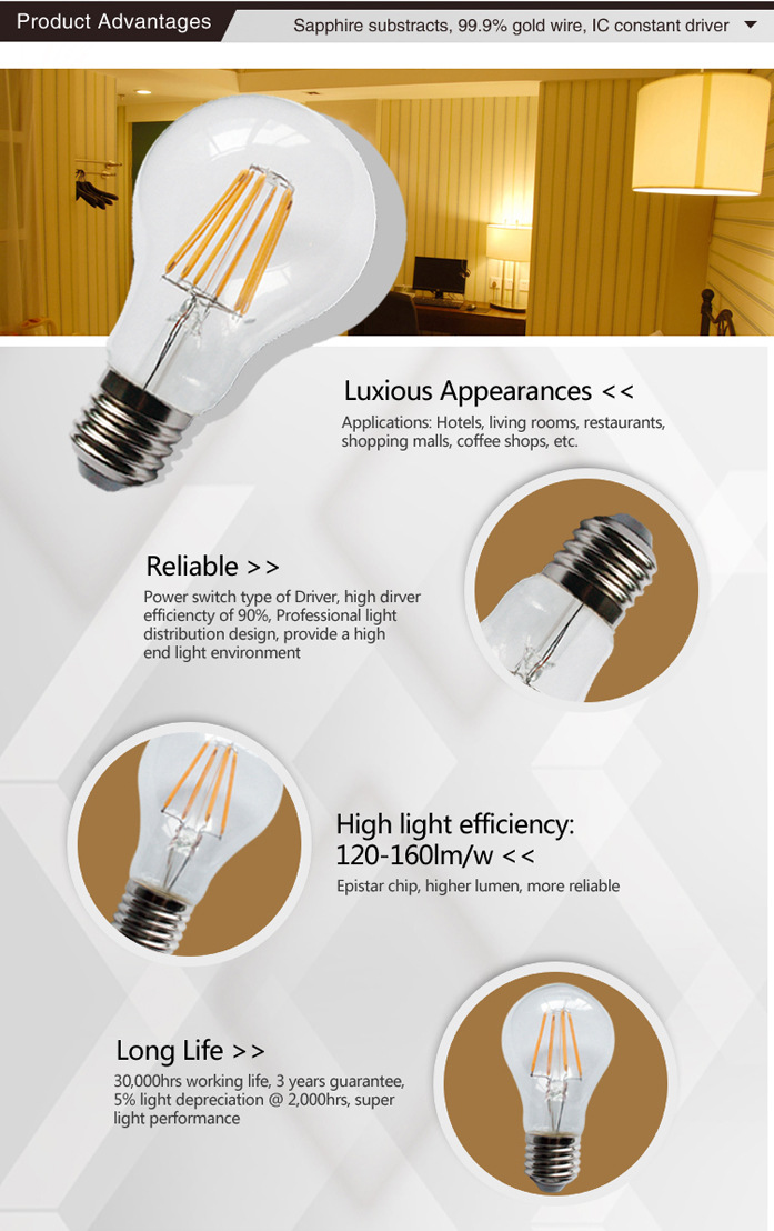 led filament bulbs dimmable