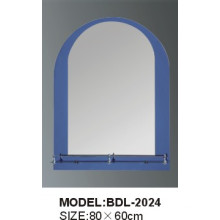 Espejo de vidrio plateado baño de 5 mm de espesor (BDL-2024)