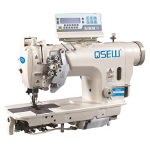 QS-8720D-UT Direct drive double needle lockstitch auto trimmer auto foot lifter big hook needle industrial sewing machine