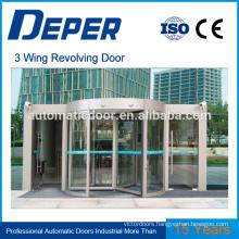 revolving door system tempered glass door automatic door opener commercial automatic door for supermarket