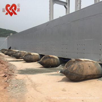 Lancement élevé de navire de roulement, levage et déplacement des airbags utilisés pour le bateau / bateau