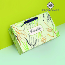 Paper bag 4C printing gift packaging bag