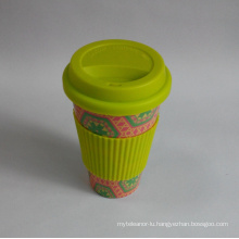 (BC-C1039) Eco Bamboo Fibre Coffee Cup with Print