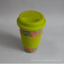 (BC-C1039) Copo de café de bambu da fibra de Eco com impressão