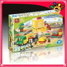 Fernbedienung Blöcke Spielzeug Backstein Gebäude Spielzeug für Kinder spielen