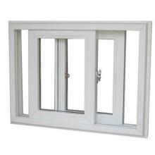 Ventana corrediza, ventana corrediza de PVC de alta calidad con diseños de rejillas