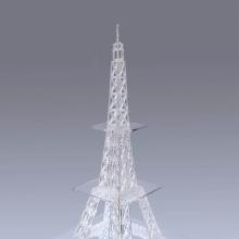 Акриловая витрина косметической верхней стойки нестандартного дизайна
