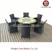 Wicker Table & Chair for Outdoor (1308)