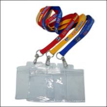 Конференция очистить имя/ID карты держатель катушки значок изготовленный на заказ Талреп с держатель Бейджа (NLC003)