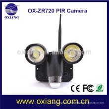 Productos superventas en la iluminación de seguridad al aire libre de los Estados Unidos 720p con la función de la cámara y del wifi