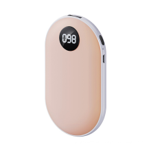 Remax RPP-187 Pink Green Winter USB Rechargeable cute mini portable 5000mAh Hand Warmer power bank