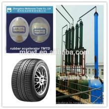 TMTD (CAS NO.:137-26-8) para empresa comercial de productos químicos de caucho