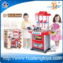 Hochwertiges Plactic Kids Küchenspielzeug mit Leuchten und Musik, mit EN71 / 7P / 62115 / ASTM / HR4040 / EMV Zertifikat H123618