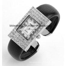 Custom Made Japan Bewegung Armreif Armbanduhren Damen