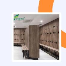 Compact laminate new design school students waterproof hpl cabinet locker