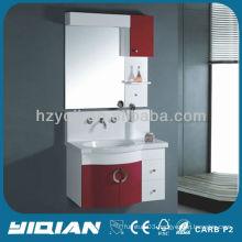 new design hanging pvc bathroom furniture set modern