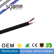 Video de Cable siamés Rg59 SIPUO Cable RG59 CCTV / RG59 Cables / coaxial RG59 con el Cable de alimentación
