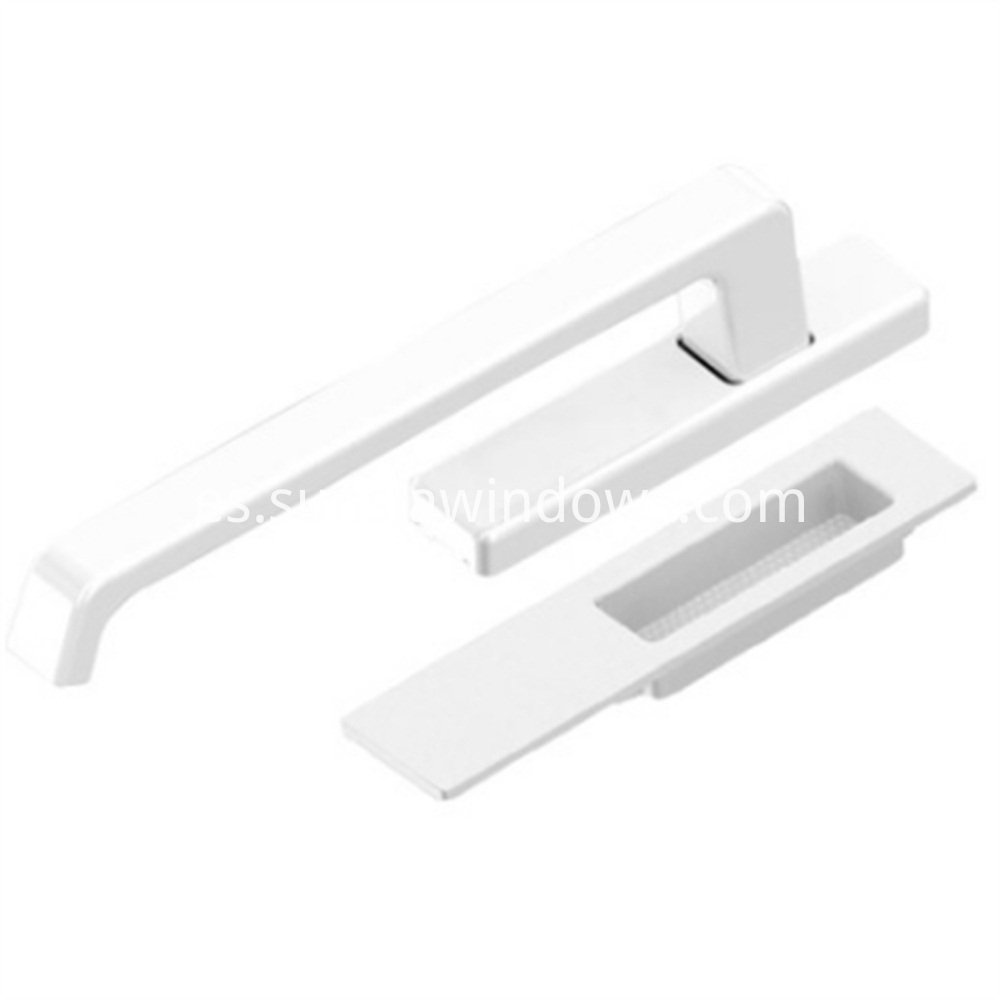 Box of Handles for Lift and Slide Door, handles for lift and slide Door, Lift and Slide Door System White Color