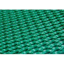 Transportador de cinto verde em PVC