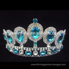 wholesale New Fashion Big Rhinestone Fashion Pageant Crowns