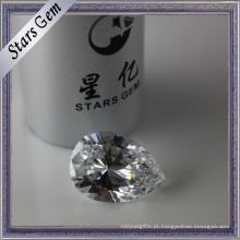 Excelente brilhante diamante cortado zircônia cúbica para jóias de fashin