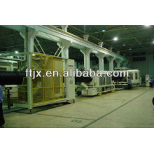 HDPE Double Wall Corrugated Pipe /High Density Polyethylene Pipe Making Machine for Sale