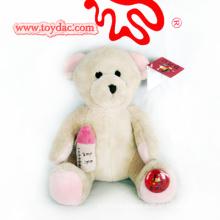 Weiche natürliche Babybären Spielzeug