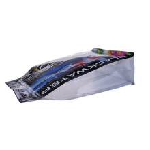 Plastic Bag Laminated Stand Up For Soft Baits