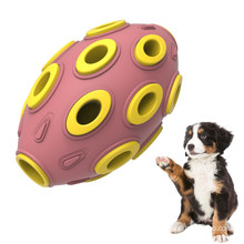 Dispensador de golosinas de anémona de goma Durable Puzzle Juguete para perros