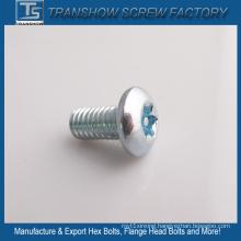 Galvanized Steel Star Head Machine Screw