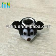 handmade lampwork glass animal beads for bracelets