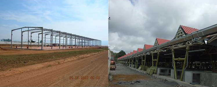 Steel Structure Workshop Prefabricated Prefab Workshop
