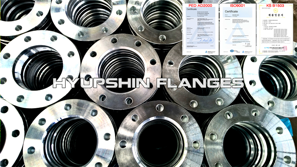 Hyupshin Flanges 2641 2642 Type02 Flanges Lapped Loose