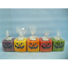 Halloween Candle Shape Ceramic Crafts (LOE2372B-7z)