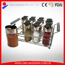Кухонная стеклянная бутылка специй Полезная / пряная банка со специями