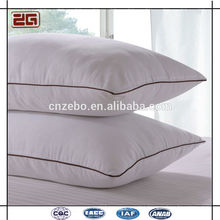 Hot Sale with Pipping Design Cheap Wholesale Polyester Fiber Pillow