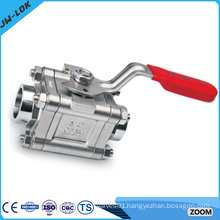 cf8m stainless steel female male automatic ball valve.