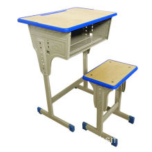 School Furniture Popular Used Single Student Desk and Chair in Modern Design with Low Price