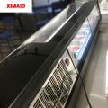 vitrina de vidrio de pastel refrigerador refrigerador