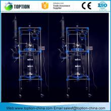 Pilot-Kristallmantel-Glasmantel-Reaktorsystem 100L