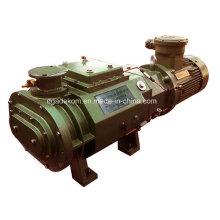 Горизонтальный вакуумный вакуумный насос с водяным охлаждением (DSHS-150)