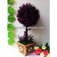 Künstliche Bonsai / Buchsbaum Topiary Blatt Baum nach Hause und außerhalb Dekoration