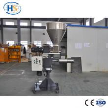 Sistema de alimentación lateral para máquina de extrusión