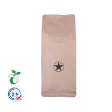 Biodegradable Zipper Food Grade Coffee Bag